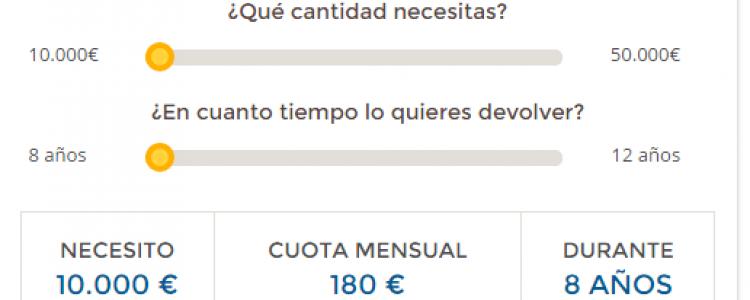 calculadora de prestamos personales